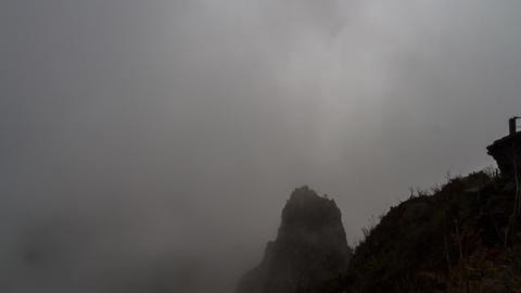 Clouds Timelapse, Reunion, Cilaos, Le Grand Benare Filmmaterial