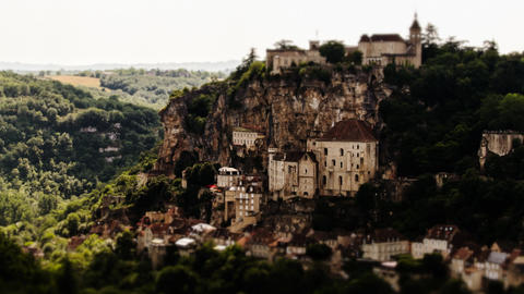 Rocamadour, Timelapse, France Footage