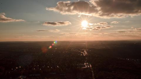 Stuttgart Cityscape, Timelapse, Germany Filmmaterial
