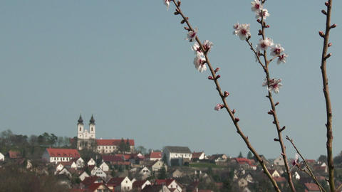 4 K Tihany Hungary Abbey Benedictine Monastery 5 Footage