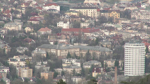 Early Spring Budapest Hungary Aerial 10 Footage