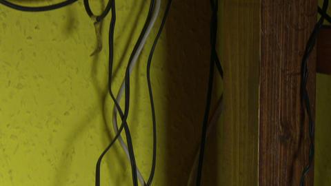 Electrtic Cables Mess 4 tilt Footage
