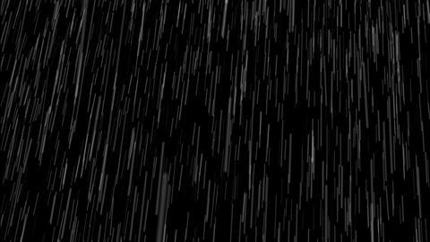 Heavy Rain Loop with Sound Footage