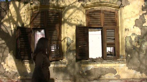 Old Demolished House Footage