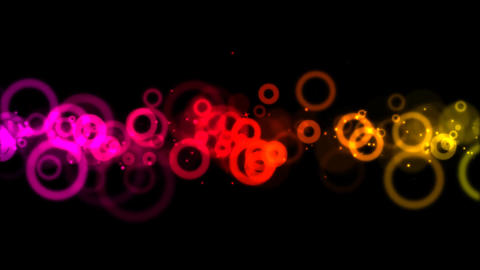 Circles background animation - Loop Animation