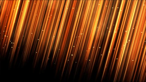 Light Rays - Loop Golden Animation