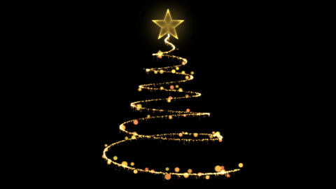 Christmas Tree Creation Animation
