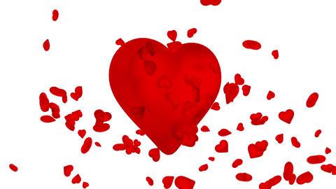 Heart spreads love - loop version Videos animados