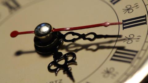 Clock close up footage Footage