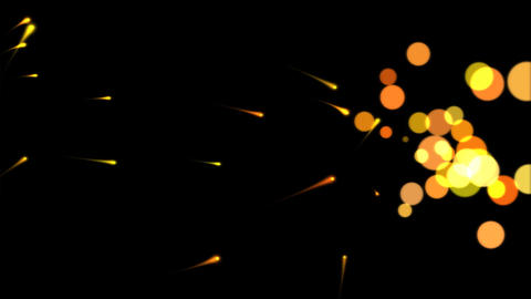 Abstract Paint Animation Yellow Stock Video Footage