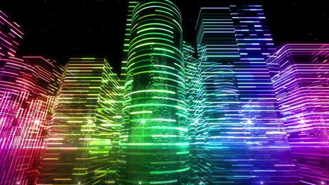 Neon Light City S 1 Aa 3 4k Animation