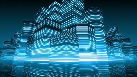 Neon Light City F 2 Ba 3 HD Animation
