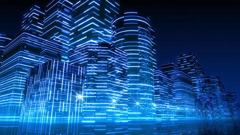 Neon Light City F 3 Aa 3 HD Animation