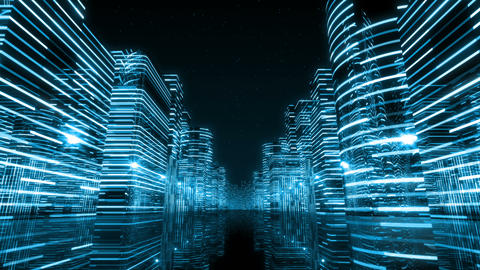 Neon Light City Z 1 Aa 3 HD Animation