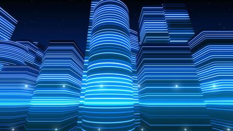 Neon Light City S 1 Ba 3 4k Animation