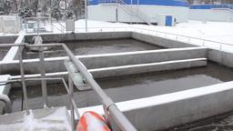 Sewage treatment plant, Waste water treatment 52 Footage