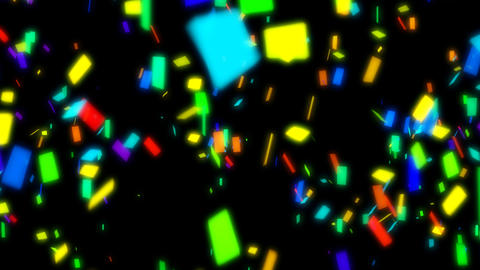 Colorful Confetti Animation