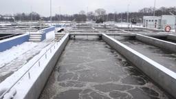 Sewage treatment plant, Waste water treatment 53 Footage