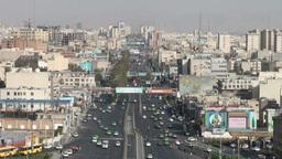 Tehran skyline Footage