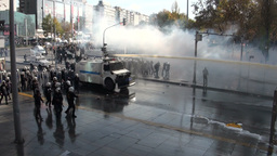 Tear gas is being used in Ankara protest Footage