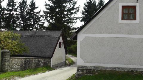 Old Village in Hungary 4 handheld Acción en vivo
