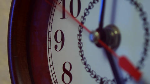 Wall Clock stock footage