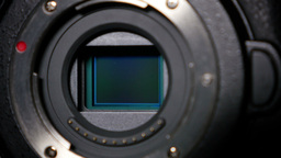 4K Digital Camera Sensor stock footage