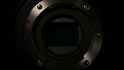 Digital Camera Sensor stock footage