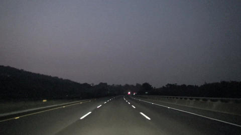 night driving on the highway Live影片
