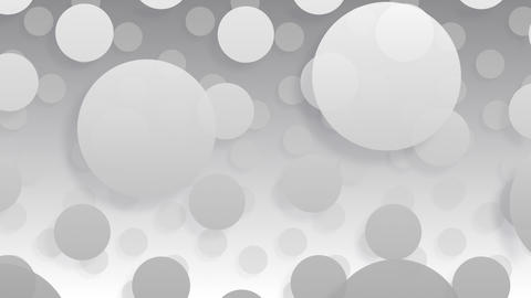 Simple background Circle L BW 4k, Stock Animation