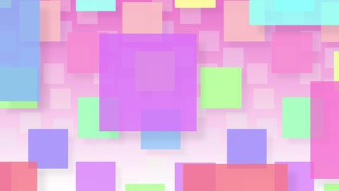 Simple background Square L 2 color 4k CG動画