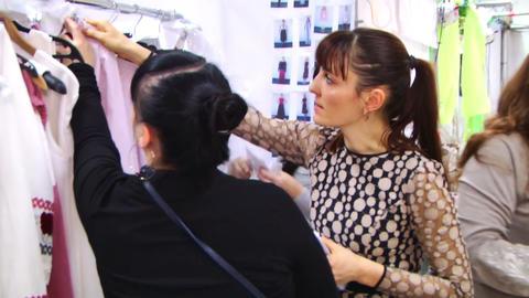 Woman Chooses Dress Live Action