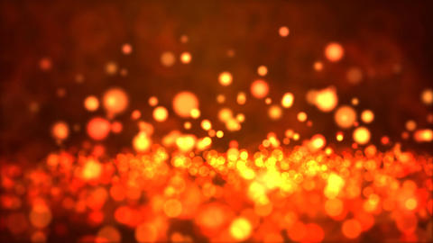 Particle Background - Loop Fiery Red Animation