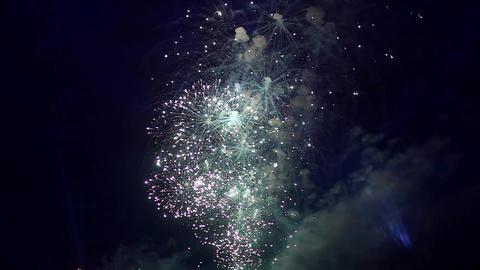 Sparkler Fireworks Footage