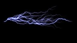 Electric Arc 2 alpha Animation