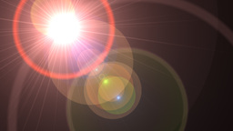 Lens Flare Transition Wipe rings alpha 1 CG動画素材