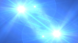 Lens Flare Transition Wipe bright blue alpha 2 Animation
