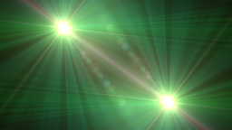 Lens Flare Transition Wipe green alpha 2 Animation