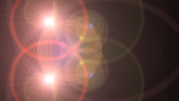 Lens Flare Transition Wipe rings alpha 4 Animation