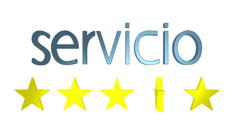 Five Star Service Spanish Animation