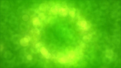 Particle Background Animation - Loop Green Animation
