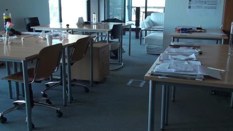 Empty Clerk Room, Office, Building, Corporate Stil Footage
