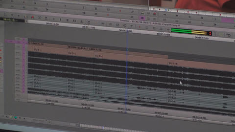 Video Editing Timeline Lot Of Audio Tracks, Media, Live Action