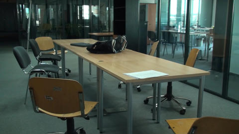 Empty Brainstorming Room, Office, Building, Corpor Live Action
