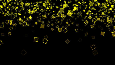 Abstract Falling Squares Background Animation - Lo CG動画素材