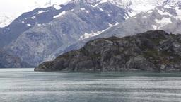 Alaska coast rugged Footage