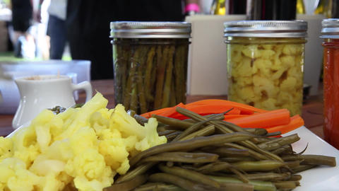 Catering pickled items Live Action