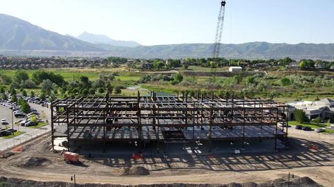 Construction site wide static Live Action