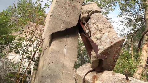 Concrete Rubble Footage