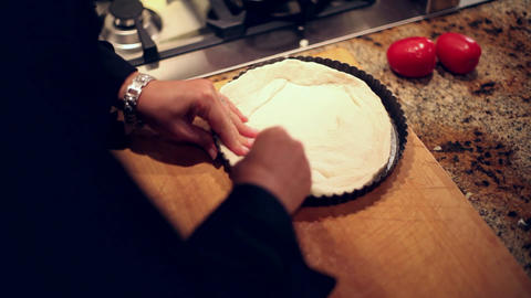 cooking pizza dough Live Action